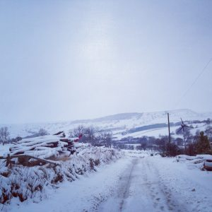 Snow in the North York Moors